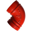 90D Long Radius Grooved Elbow Pipe Fittings