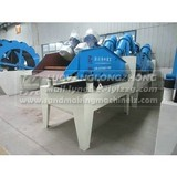 LZ300 sand recycling machine in stock