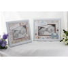 baby cute ornate homemade of white picture frame