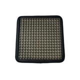 Black Gel Car Seat Cushion, Backing Black PU Leather