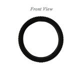 Black Gel Steering Wheel Cover, Backing Black PU