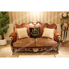 New model sofa sets Baroque furniture chesterfield leather sofa FF-109