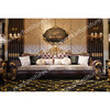 Furniture diwan wooden sofa set designs living room sofa TI-010   Detail:   l Leather,cushion   l Solid wood, gilt wood   l Chosen solid wood and select veneer over durable wood   l A high resilient, high density foam core wrapped virgin polyester fibers