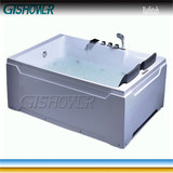 Free Standing Double Jet Tub