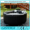 4 Peron Round Inflatable Hot Tub