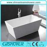Rectangle Acrylic Freestanding Bathtub (KF-719B)
