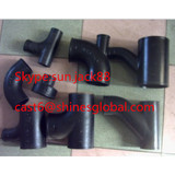 No Hub Cast Iron Pipe Fittings/ASTM A888 Hubless Pipes