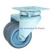 Twin Wheel Casters Swivel Top Plate Sturdy Hardware