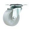 Light Duty Swivel Casters Zinc Plated Plain Bearing
