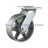 Heavy Duty Casters Solid Steel Wheels Swivel Top Plate