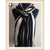 Knitted scarves with your custom colors or designs, bespoke in our china knitted scarf factory
