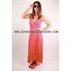 2015 new design Bohemian maxi Dress mature women dress