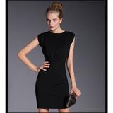 Import from china 2015 sleeveless sexy solid women dress fashion style wholesale women dress