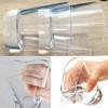 Transparent silicone cup