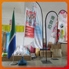 custom digital print feather flag banners manufacturer supply