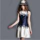European fashion clothing ;cocktail dress