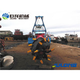 New design and hydraulic used dredger