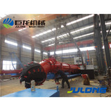 High production river suction dredger