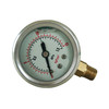 1.5inch-40mm half stainless steel bottom liquid filled pressure gauge