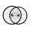 MTB training bike Carbon 29er MTB Wheels 40mm Width Clincher Hookless Tubeless Compatible for Downhill