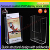 Customized factory price acrylic gift card display rack