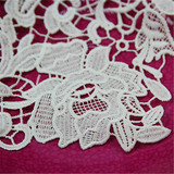 embroidery cord indian bridal lace applique trimming