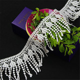 High quality products embroidery fashion guipure lace trim for garment