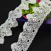 cotton polyester lace trim fabric for garments
