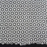 Wholesale cheap chemical lace embroidery fabric for wedding dress