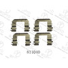WELLDE DISC BRAKE PAD HARDWARE KIT 811040 FOR BRAKE PAD D924 FOR HYUNDAI COUPE