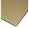 Aluminum composite panel with different surface color
