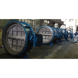 TRIPPLE OFFSET BUTTERFLY VALVE