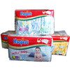 Baby Diaper with Elastic Waist Band, Cloth-like Backsheet,Magic Tape,ADL, Imported Fluff Pulp