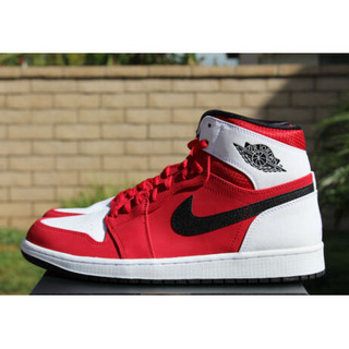 new images of latest discount 100% genuine Nike Air Jordan 1 Retro High Sz 9 Gym Red Black White Blake ...
