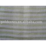 pure RAMIE YARN dyed Fabric for garment home textile