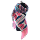 Scarves Made of High Quality Woolen Yarn