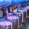 DXM LED for 54*3w indoor led rgbw par can light rgbw led par