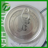 99mm aluminium easy open lid can top end