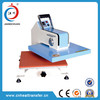New style manual swing heat press machine for shirt,textile fabric rotary printing machine