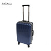 WANLIMA 2016 Spring Summer PC trolley suitcase TSA lock light material