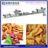 Extruded Fried snack food production line 3D Flour Bugles Chips Making machine