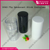 cheap plastic deodorant sticker bottle container, roller deodorant bottle