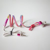 Patented Rainbow Glow-in-the-dark zipper earphone