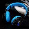 Wholesale OEM AB005 Stereo Foldable Silent Disco LED Headphones
