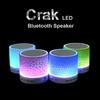 Stereo LED Crack Wireless Bluetooth Speaker