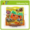 Novel 3D world animals view master ,view camers photos