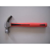 American type claw hammer with plastic handle