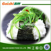 China frozen seafood seasoned seaweed salad for japanese sushi