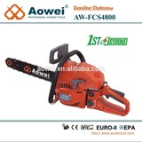 1.7 kW four stroke chain saw compliant of EPA & EUR II