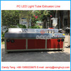 CE Plastic Profile Extrusion Line for LED Light Diffuser / LED PC Cover Making Machine